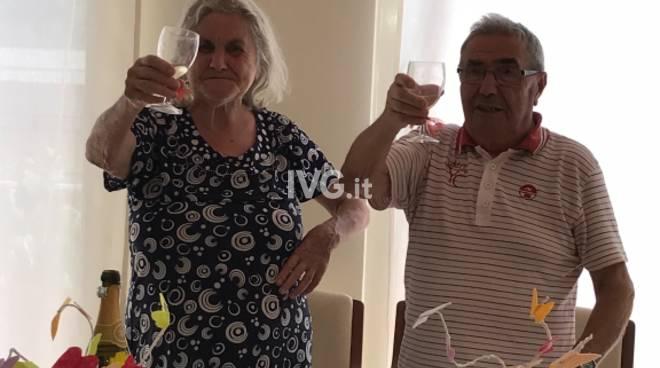 Nozze diamante Berta e Luciano Alassio