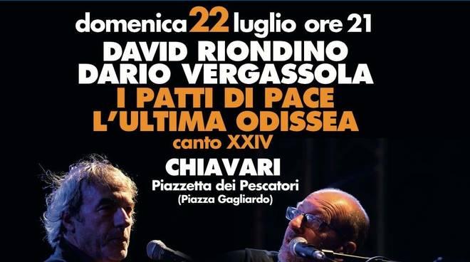"""Odissea - Un racconto mediterraneo"" Dario Vergassola David Riondino Chiavari"