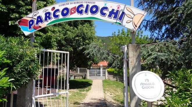 Parco viale Colombo Borgio Verezzi