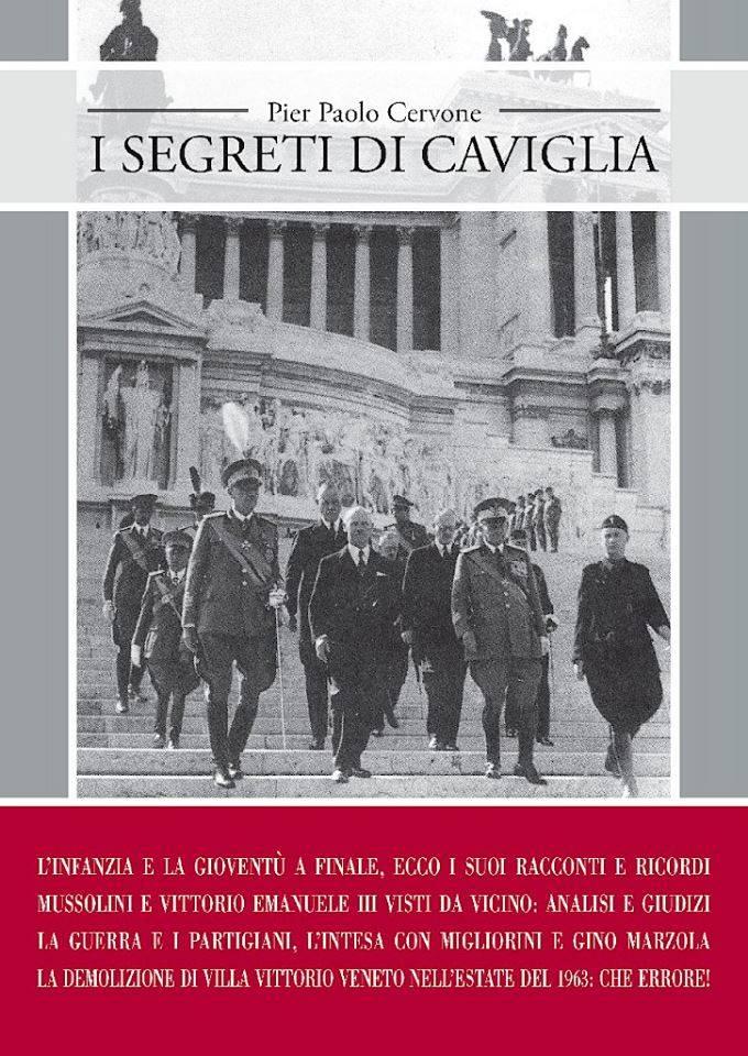"""Pier Paolo Cervone """"I segreti di Caviglia"""""""