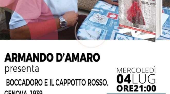 """Presentazione libro Armando D'Amaro """"Boccadoro e il cappotto rosso"""""""