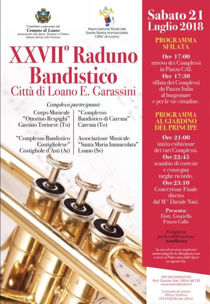 """Raduno Bandistico """"Garassini"""" Loano 2018"""