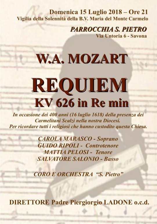 Requiem Mozart Coro e Orchestra San Pietro