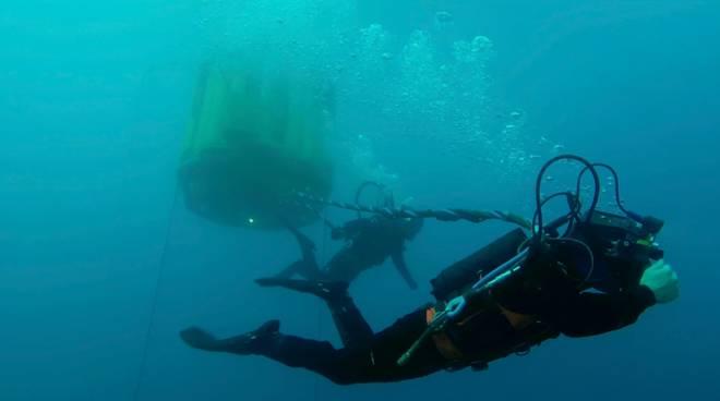 ricerca subacquea