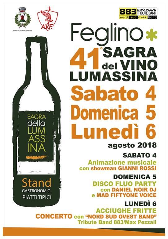 Sagra del Vino Lumassina 2018