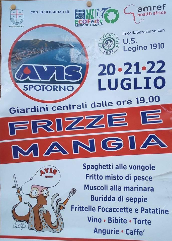 """Sagra """"Frizze e Mangia"""" Spotorno"""