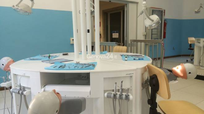 sala simulazione odontoiatrica