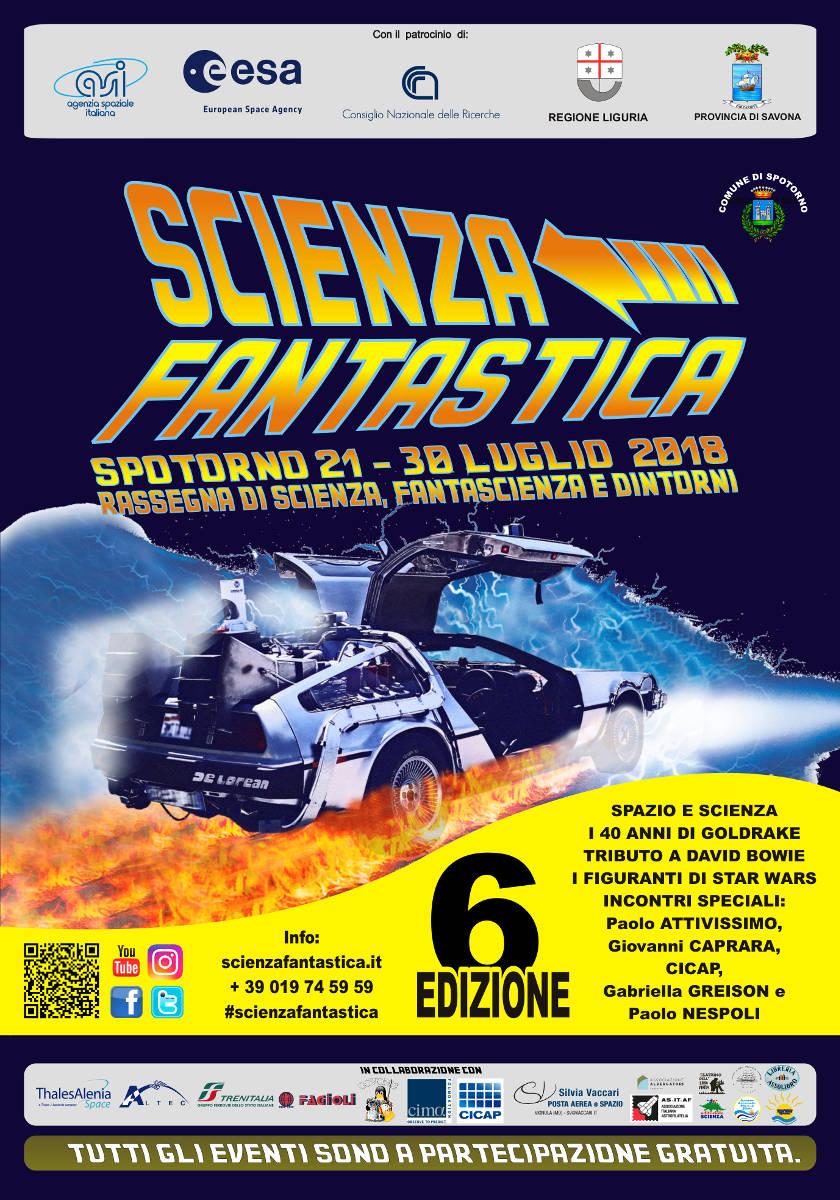 """""""Scienza Fantastica"""" Spotorno 2018"""