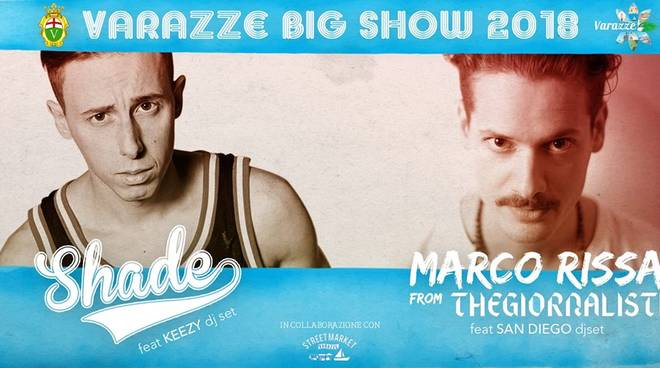 Shade Marco Rissa The Giornalisti Varazze Big Sow