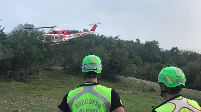 soccorso alpino elisoccorso elicottero drago