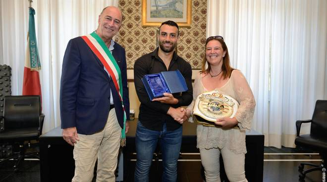 Stefano Fanelli ricevuto dal Sindac