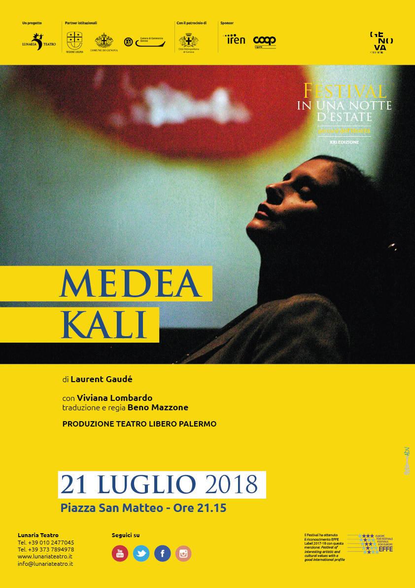 """Teatro Libero di Palermo """"Medea Kali"""" Viviana Lombardo"""