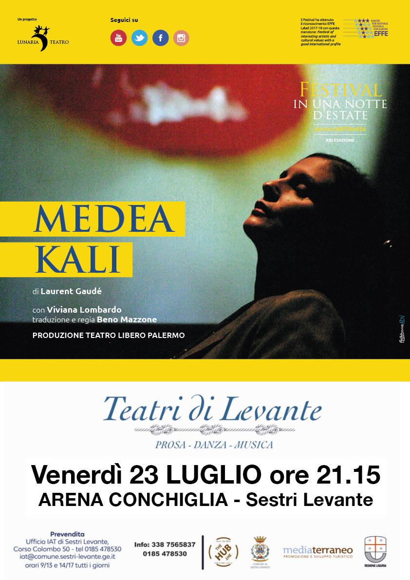 """Teatro Libero di Palermo """"Medea Kali"""" Sestri Levante"""