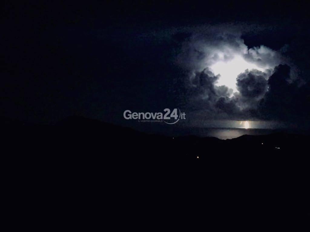 Tempesta di fulmini sera del 22 luglio 2018