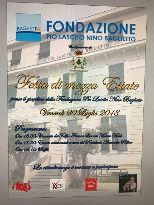 Trilli Franca Lai concerto Fondazione Baglietto Cogoleto