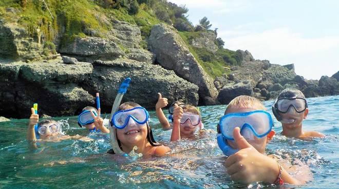 tuffo nel blu snorkeling
