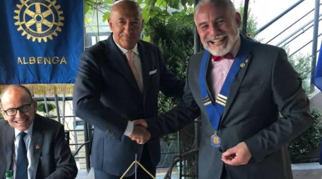 Roberto Chiarvetto Rotary Albenga
