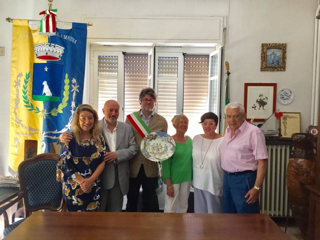 Donazione Ceramia Alba Docilia Comune Albissola