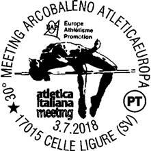 Annullo Filatelico Meeting Arcobaleno