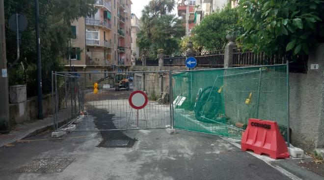 Lavori Via Pisa Savona