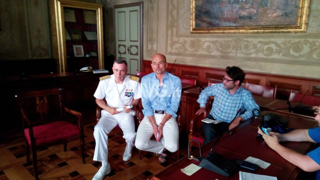 Conferenza Stampa Finale Nave Anteo