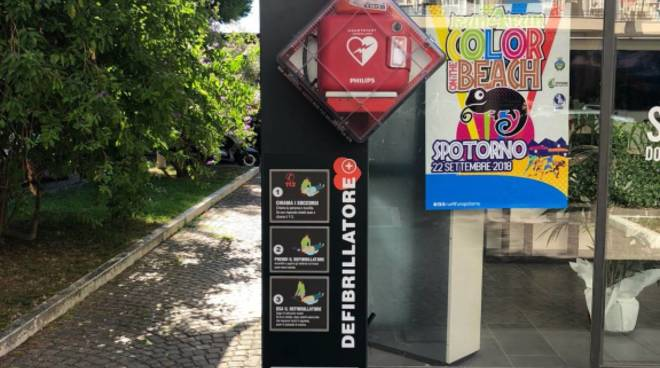Defibrillatore Spotorno