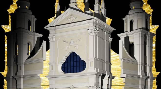 Videomapping 3D Basilica San Nicolò Pietra Ligure