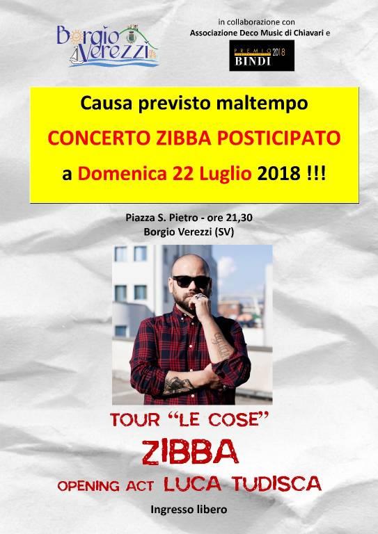 Zibba concerto Borgio Verezzi
