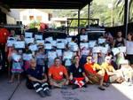 Bambini campo solare volontari Aib e bianca spotorno
