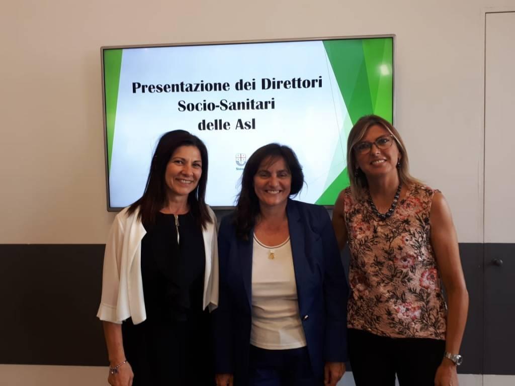 Bruna Rebagliati, Cristina Giordano, Sonia Viale