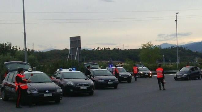 carabinieri albenga controlli casello autostradale