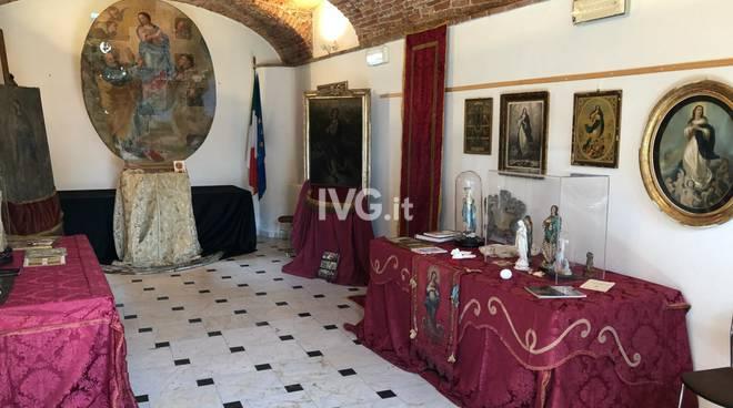 Il restauro della pala della Concezione in Fegluno