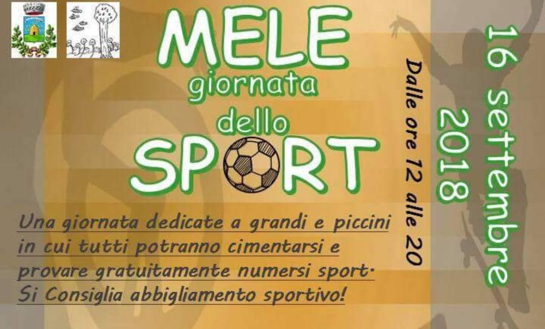 MELE, giornata dello sport