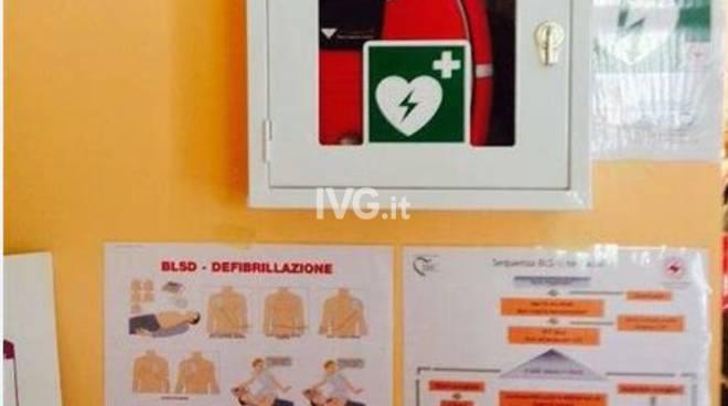 Domani inagurazione del defibrillatore presso la AMS Fratellanza Quilianese