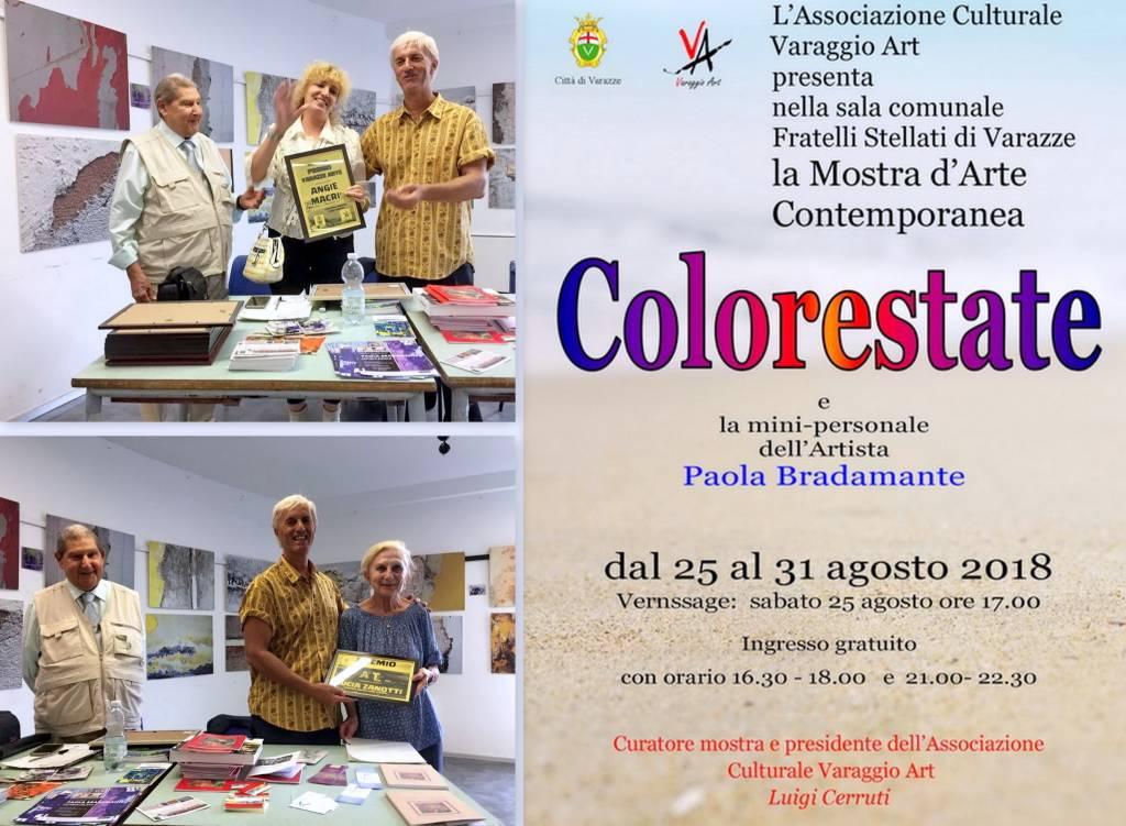 """""""Colorestate"""" mostra collettiva Varaggio Art"""