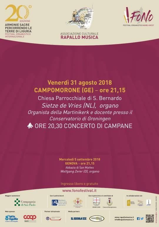 Concerto d'organo e campane Campomorone