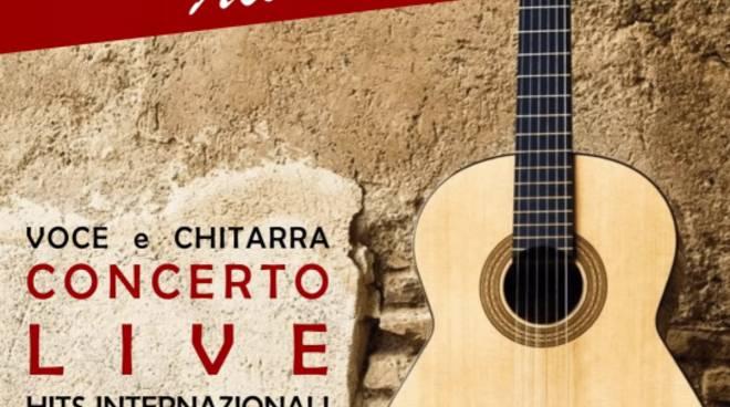 Concerto duo acustico Maria Frasca - Fabio Paxia Andora