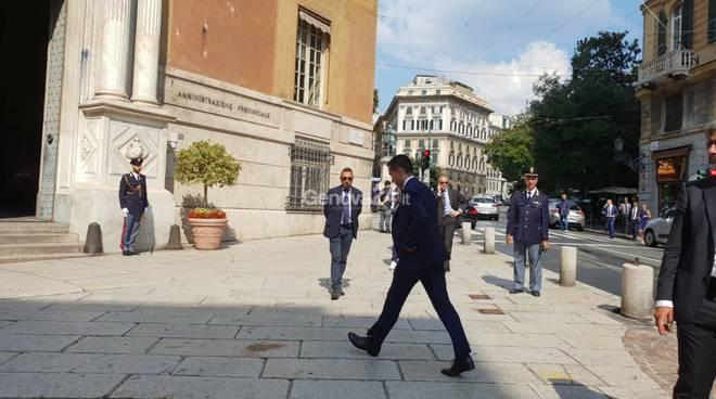 consiglio dei ministri a Genova dopo il crollo del ponte Morandi