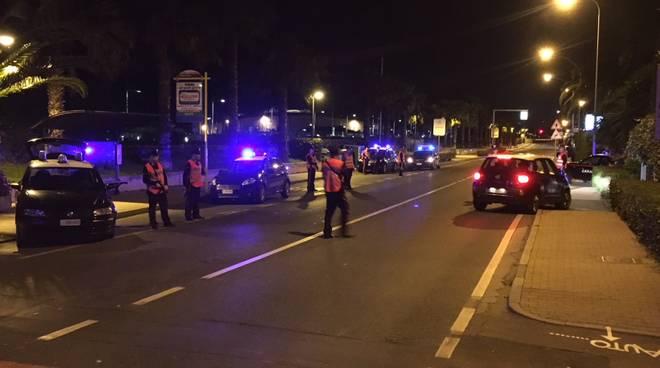 controlli carabinieri notte loano albenga