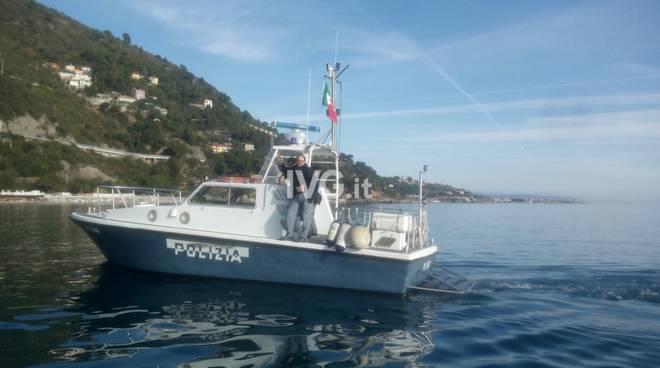 Controlli squadra nautica polizia di stato Alassio