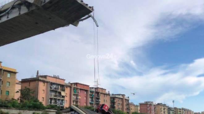 Crollo ponte Morandi, the day after