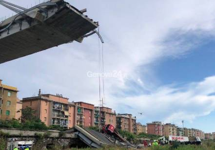 Crollo ponte Morandi, the day after
