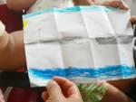disegno bambina ponte morandi