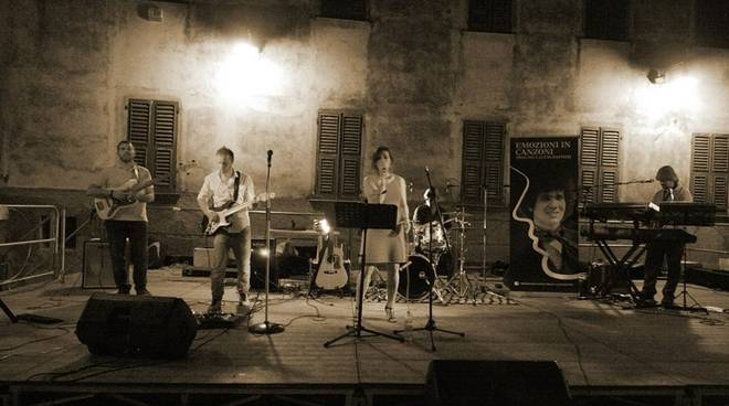 Emozioni in Canzoni tribute band Lucio Battisti