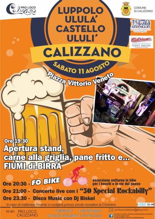 Festa Birra Calizzano 2018
