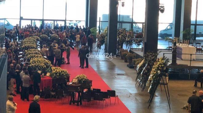 funerali di stato vittime del crollo ponte morandi