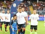 Genoa-Empoli, il prepartita omaggio alle vittime del ponte Morandi