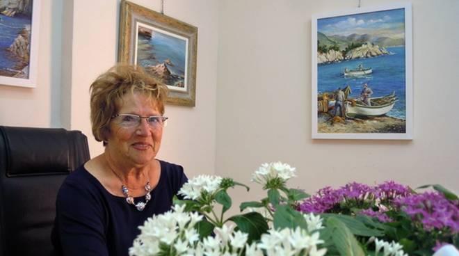 Germana Corno artista Gallery Malocello
