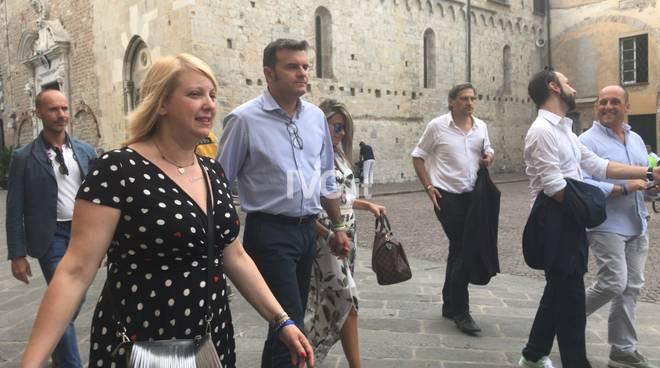 Il ministro Centinaio ad Albenga