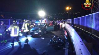 incidente scooter auto